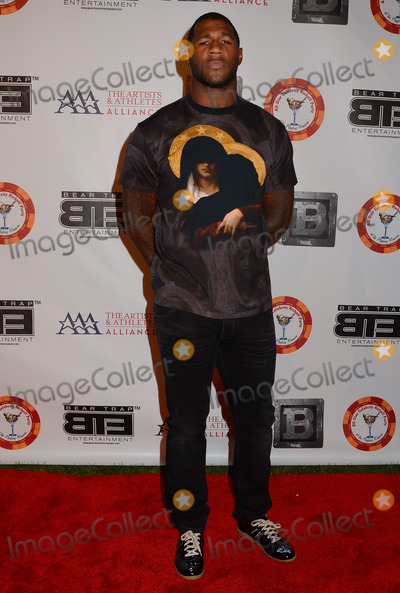 Andre Branch Photo - 15 July 2013 - Los Angeles Ca - Andre Branch 8th Annual BTE All-Star Celebrity Kick-Off Party at Playboy Mansion in Los Angeles Ca Photo Credit BirdieThompsonAdMedia