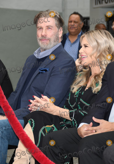 TCL Chinese Theatre Photo - 14 December 2018 - Hollywood California - John Travolta Ellen K Pitbull Hand And Footprint Ceremonyheld at TCL Chinese Theatre Photo Credit Birdie ThompsonAdMedia
