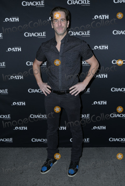 Aaron Abrams Photo - 07 March 2018 - Culver City California - Aaron Abrams Premiere Of Crackles The Oath held at Sony Pictures Studios Photo Credit PMAAdMedia