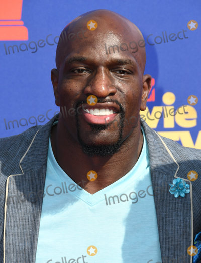 Titus ONeil Photo - 15 June 2019 - Santa Monica California - Titus ONeil 2019 MTC Movie and TV Awards held at Barker Hangar Photo Credit Birdie ThompsonAdMedia