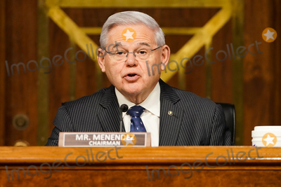 Foreigner Photo - Senate Foreign Relations Committee Robert Menendez (D-NJ) gives an opening statement during confirmation hearing for nominee for Administrator of the United States Agency for International Development Samantha Power on Tuesday March 23 2021Credit Greg Nash  Pool via CNPAdMedia