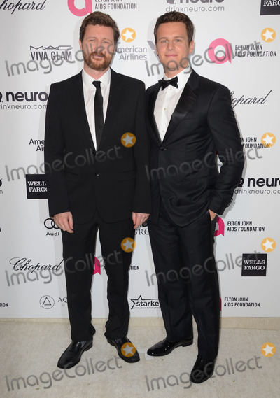 Andrew Haigh Photo - 22 February 2015 - West Hollywood California - Andrew Haigh Jonathan Groff 23rd Annual Elton John Academy Awards Viewing Party sponsored by Chopard Neuro Drinks and Wells Fargo held at West Hollywood Park Photo Credit Birdie ThompsonAdMedia
