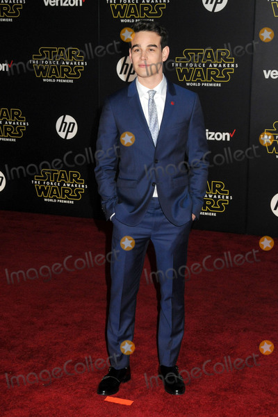 Alberto Rosende Photo - 14 December 2015 - Hollywood California - Alberto Rosende Star Wars The Force Awakens Los Angeles Premiere held at multiple theaters on Hollywood Blvd Photo Credit Byron PurvisAdMedia