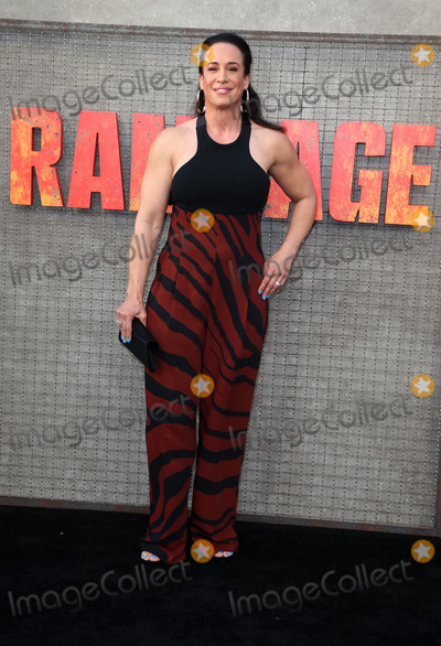 Dany Garcia Photo - 04 April 2018 - Los Angeles California - Dany Garcia Warner Bros Pictures Rampage Los Angeles Premiere held at Microsoft Theater Photo Credit F SadouAdMedia