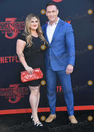 Andrey Ivchenko Photo - 28 June 2019 - Santa Monica California - Becky Poliakoff Andrey Ivchenko Stranger Things 3 Los Angeles Premiere held at Santa Monica High School Photo Credit Birdie ThompsonAdMedia