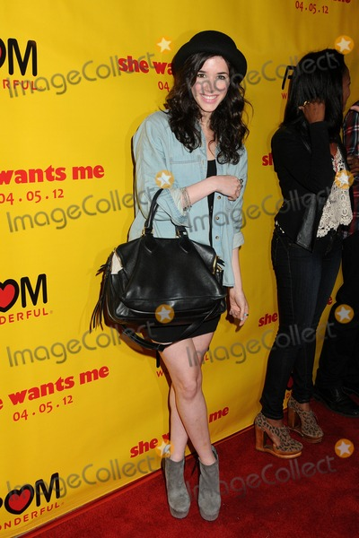 Erica Dasher Photo - 5 March 2012 - Beverly Hills California - Erica Dasher She Wants Me Los Angeles Premiere held at the Laemmle Music Hall Photo Credit Byron PurvisAdMedia