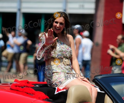 Ashley Gearing Photo - 8 June 2011 - Nashville Tn -  Ashley Gearing rides in the CMA Music Festival Kickoff ParadePhoto Credit Mike StrasingerAdMedia