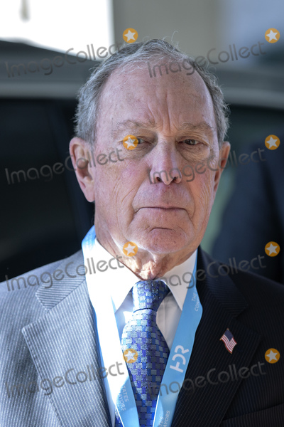 Michael Bloomberg Photo - Former Mayor of New York and current presidential candidate Michael Bloomberg arrives at the Capital Hilton Hotel in Washington DC US on Wednesday January 22 2020 to deliver remarks at the United States Conference of Mayors 88th Winter MeetingCredit Stefani Reynolds  CNPAdMedia