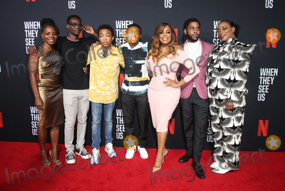 Aunjanue Ellis Photo - 11 August 2019 - Los Angeles California - Marsha Stephanie Blake Ethan Herisse Asante Blackk Caleel Harris Niecy Nash Jharrel Jerome Aunjanue Ellis When They See Us for your consideration Los Angeles 2019 - Day 1 held at Paramount Theatre Photo Credit FSadouAdMedia