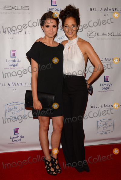 Maia Mitchell Photo - 13 June 2014 - Beverly Hills California - Maia Mitchell Sherri Saum Arrivals for Lambda Legals West Coast Liberty Awards Fundraising Gala held at The Beverly Wilshire Four Seasons Hotel in Beverly Hills Ca Photo Credit Birdie ThompsonAdMedia