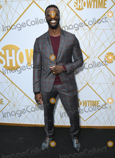 Aldis Hodges Photo - 21 September 2019 - West Hollywood California - Aldis Hodge 2019 Showtime Emmy Eve Celebration held at Poolside at The San Vincente Bungalows Photo Credit Birdie ThompsonAdMedia