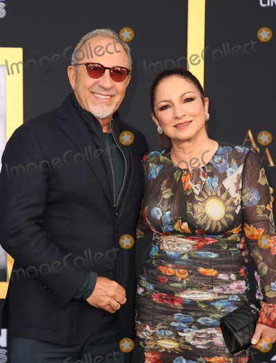 Emilio Estefan Photo - 24 September 2018-  Los Angeles California - Emilio Estefan Gloria Estefan the Los Angeles premiere of A Star Is Born held at The Shrine Auditorium Photo Credit Faye SadouAdMedia