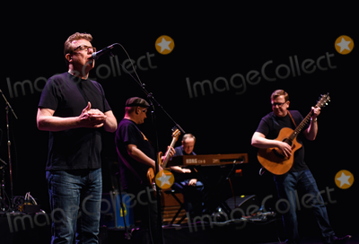 Charlie Reid Photo - 21 September 2018 - Hamilton Ontario Canada  Twin brothers Charlie Reid and Craig Reid of Scottish folkrock duo The Proclaimers perform on stage during their Canadian Tour at the FirstOntario Concert Hall  Photo Credit Brent PerniacAdMedia