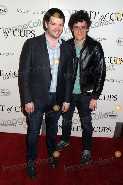 Chris Miller Photo - 1 March 2016 - Los Angeles California - Chris Miller Phil Lord Knight Of Cups Los Angeles Premiere held at the Ace Hotel Theatre Photo Credit Byron PurvisAdMedia