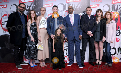 Julia Crockett Photo - 01 June 2016 - Los Angeles California - David Denman Wrenn Schmidt Julia Crockett Patrick Fugit Madeline McGraw Reg E Cathey Philip Glenister Kate Lyn Sheil Arrivals for the Los Angeles premiere for Cinemaxs Outcast held at CINESPIA At Hollywood Forever Cemetery Photo Credit Birdie ThompsonAdMedia