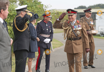 Nick Carter Photo - 15th August 2020 - Prince Charles Prince of Wales and Camilla Duchess of Cornwall during the national service of remembrance marking the 75th anniversary of VJ Day at the National Memorial Arboretum in Alrewas Staffordshire Saturday marks 75 years since Japan surrendered to the Allied forces on August 15 1945 ending the conflicts hostilities Photo Credit ALPRAdMedia
