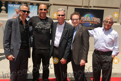 Ron Meyer Photo - 23 June 2015 - Universal City California - Mark Woodbury Vin Diesel Tom Williams Larry Kurzweil Ron Meyer Fast  Furious - Supercharged Thrill Ride Launch Event held at Universal Studios Photo Credit Byron PurvisAdMedia