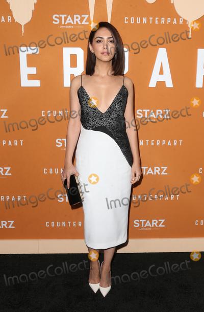 Nazanin Boniadi Photo - 3 December 2018 - Hollywood California - Nazanin Boniadi the Season 2 premiere of Counterpart held at ArcLight Hollywood Hotel Photo Credit Faye SadouAdMedia