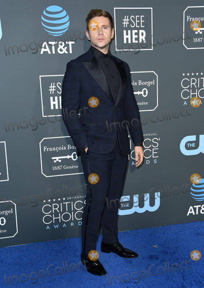 Allen Leech Photo - 13 January 2019 - Santa Monica California - Allen Leech The 24th Annual Critics Choice Awards held at Barker Hangar Photo Credit Birdie ThompsonAdMedia
