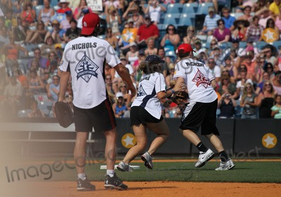 Joe Nichols Photo - 11 June 2011 - Nashville TN - Joe Nichols Lauren Alaina Scotty McCreery City of Hope Celebrity Softball Challenge at Greer Stadium Photo Credit MJTAdMedia