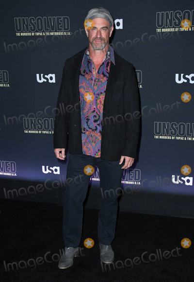 Christopher Meloni Photo - 22 February 2018 - Hollywood California - Christopher Meloni USA Networks Unsolved The Murders of Tupac  The Notorious BIG held at Avalon Hollywood Photo Credit Birdie ThompsonAdMedia