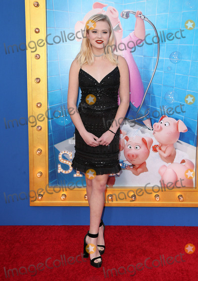 Ava Phillippe Photo - 03 December 2016 - Los Angeles California - Ava Phillippe Universal Pictures Sing Los Angeles Premiere held at Microsoft Theater Photo Credit F SadouAdMedia