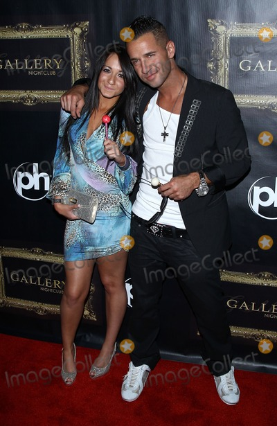 Mike The Situation Sorrentino Photo - 12 August 2011 - Las Vegas Nevada - Melissa Sorrentino Mike The Situation Sorrentino  Lucas Till celebrates his 21st birthday at Chateau Nightclub inside Paris Las Vegas and Mike The Situation Sorrentino hosts a night at Gallery Nightclub inside Planet Hollywood Resort and Casino  Photo Credit MJTAdMedia