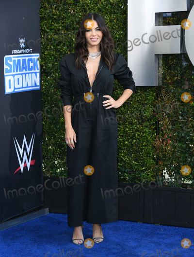 Jenna Dewan Photo - 04 October 2019 - Los Angeles California - Jenna Dewan  WWE 20th Anniversary Celebration Marking Premiere Of WWE Friday Night SmackDown On FOX held at Staples Center Photo Credit Birdie ThompsonAdMedia