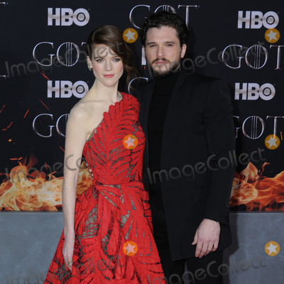 Rose Leslie Photo - 03 April 2019 - New York New York - Rose Leslie and Kit Harington at the NYC Red Carpet Premiere for final season of HBOs GAME OF THRONES at Radio City Music Hall Photo Credit LJ FotosAdMedia