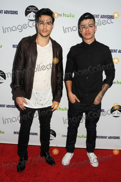 Andrew Jacobs Photo - 31 March 2015 - Hollywood California - Ray Diaz Andrew Jacobs Resident Advisors Premiere Screening held at Paramount Studios Photo Credit Byron PurvisAdMedia