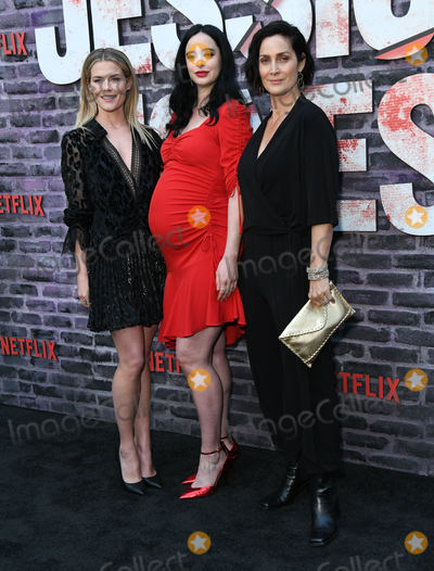 Carrie Anne Moss Photo - 28 May 2019 - Hollywood California - Rachel Taylor Krysten Ritter Carrie-Anne Moss Special Screening Of Netflixs Jessica Jones Season 3 held at Arclight Hollywood Photo Credit Birdie ThompsonAdMedia