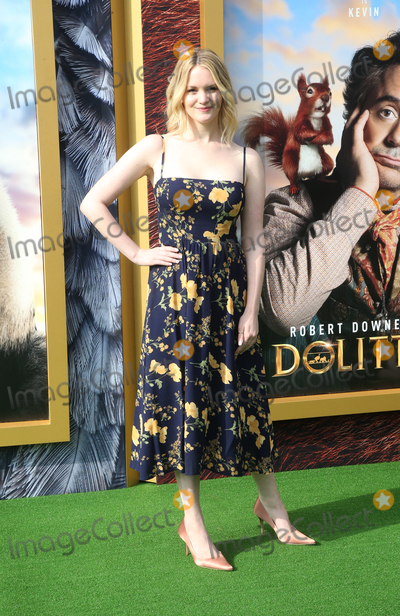 Anna Lundberg Photo - 11 January 2020 - Westwood California - Anna Lundberg the premiere of Universal Pictures Dolittle held at the Regency Village Theatre Photo Credit FSAdMedia