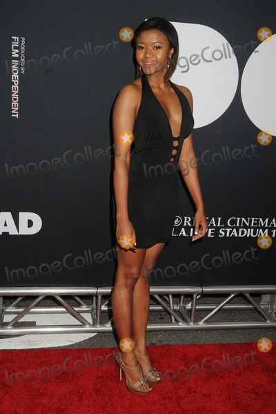 Amira Lumbly Photo - 8 June 2015 - Los Angeles California - Amira Lumbly LA Film Festival 2015 Premiere of Dope held at Regal Cinemas LA Live Photo Credit Byron PurvisAdMedia