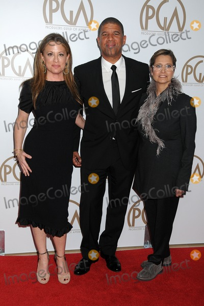 Nancy Bernstein Photo - 26 January 2013 - Beverly Hills California - Christina Steinberg Peter Ramsey Nancy Bernstein 24th Annual Producers Guild Awards held at the Beverly Hilton Hotel Photo Credit Byron PurvisAdMedia