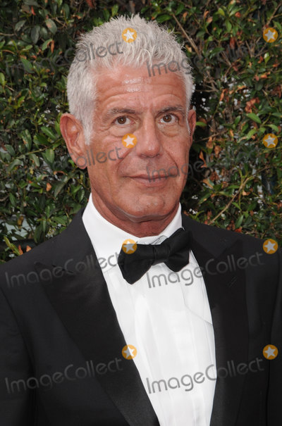Anthony Bourdain Photo - 08 June  2018 -  Anthony Bourdain the TV celebrity and food writer who hosted CNNs  Parts Unknown was found dead in his hotel room File Photo 11 September 2016 - Los Angeles California Anthony Bourdain 2016 Creative Arts Emmy Awards - Day 2 held at Microsoft Theater Photo Credit Birdie ThompsonAdMedia
