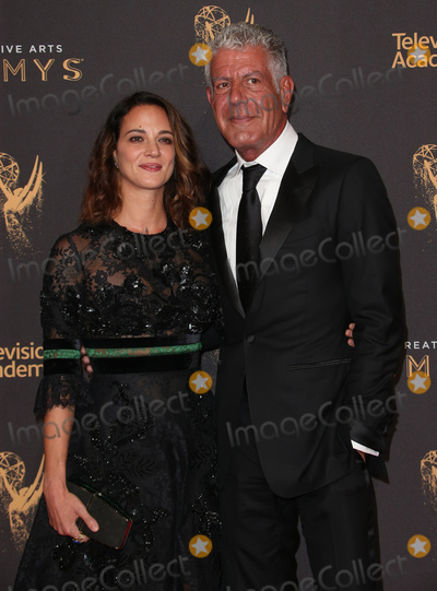 Anthony Bourdain Photo - 08 June  2018 -  Anthony Bourdain the TV celebrity and food writer who hosted CNNs  Parts Unknown was found dead in his hotel room File Photo 09 September 2017 - Los Angeles California - Anthony Bourdain Asia Argento 2017 Creative Arts Emmy Awards - Day 1 held at Microsoft Theater Photo Credit F SadouAdMedia
