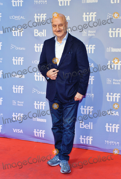 Anupam Kher Photo - 21 March 2019 - Terrorism thriller Hotel Mumbai suspended from New Zealand cinemas following the Christchurch mosque attacks  File Photo 2018 Toronto International Film Festival Hotel Mumbai Press Conference Toronto Ontario Canada Photo Credit Brent PerniacAdMedia