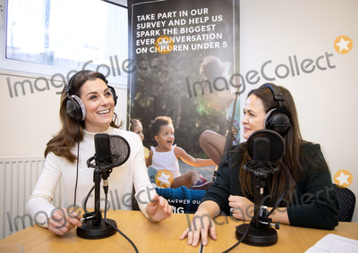 Mums Photo - 14022020 - Kate Middleton Duchess of Cambridge joins Giovanna Fletcher for the latest episode of the Happy Mum Happy Baby Podcast Featuring an interview with The Duchess of Cambridge on the Early Years and her landmark survey 5 Big Questions on the Under Fives In  her first ever podcast interview The Duchess talks about her passion for the early years her aims for the survey and opens up about her experience of motherhood Photo Credit ALPRAdMedia