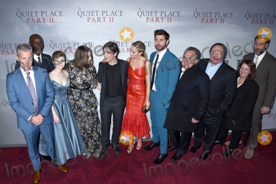 The Cast Photo - 08 March 2020 - New York New York - The cast and producers at the World Premiere of A QUIET PLACE PART II in the Rose Theater at Jazz at Lincoln Center Frederick P Rose Hall Photo Credit LJ FotosAdMedia