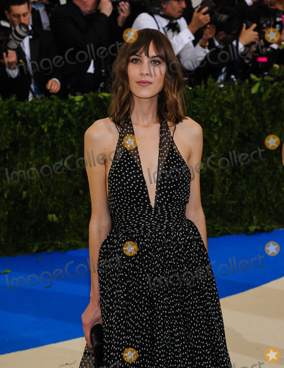 Alexa Chung Photo - 01 May 2017 - Alexa Chung 2017 Metropolitan Museum of Art Costume Institute Benefit Gala at The Metropolitan Museum of Art Photo Credit Christopher SmithAdMedia