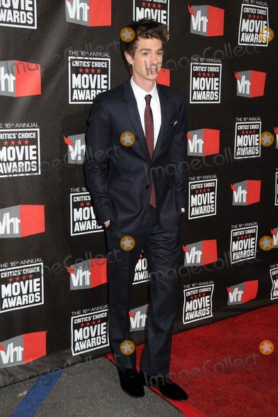 Andrew Garfield Photo - 14 January 2011 - Hollywood California - Andrew Garfield 16th Annual Critics Choice Movie Awards held at the Hollywood Palladium Photo Byron PurvisAdMedia