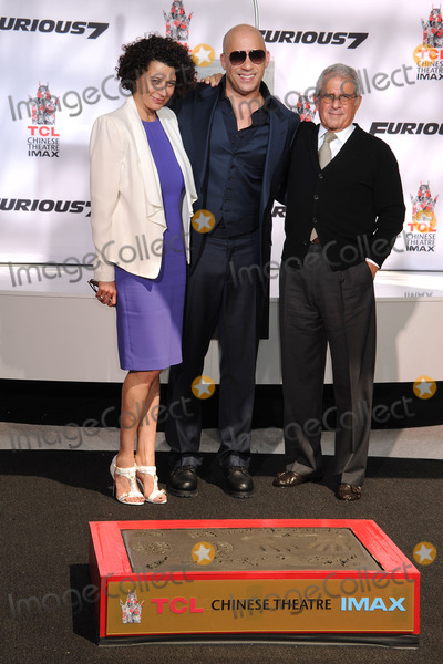 Ron Meyer Photo - 1 April 2015 - Hollywood California - Donna Langley Vin Diesel Ron Meyer Vin Diesel Hand and Footprint Ceremony held at the TCL Chinese Theatre Photo Credit Byron PurvisAdMedia