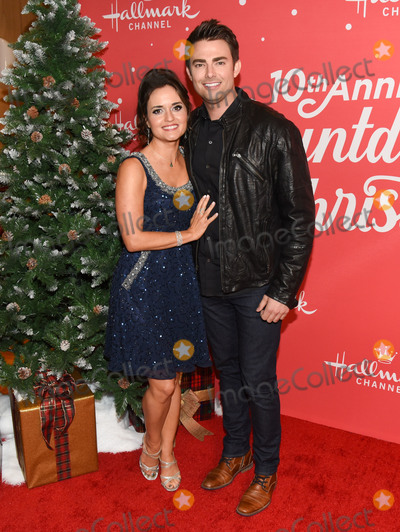 Jonathan Bennett Photo - 20 November 2019 - Hollywood California - Danica McKellar Jonathan Bennett Hallmark Channels 10th Anniversary Countdown to Christmas - Christmas Under the Stars Screening and Party Photo Credit Billy BennightAdMedia