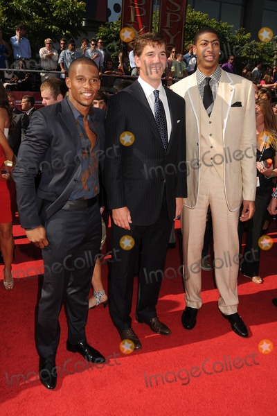 Anthony Davis Photo - 11 July 2012 - Los Angeles California - Victor Cruz Eli Manning Anthony Davis 2012 ESPY Awards - Arrivals held at Nokia Theatre LA Live Photo Credit Byron PurvisAdMedia