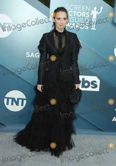 Winona Ryder Photo - 19 January 2020 - Los Angeles California - Winona Ryder 26th Annual Screen Actors Guild Awards held at The Shrine Auditorium Photo Credit AdMedia