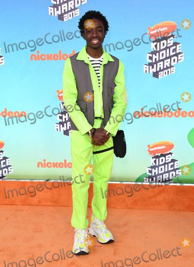 Caleb McLaughlin Photo - 23 March 2019 - Los Angeles California - Caleb McLaughlin 2019 Nickeldeon Kids Choice Awards held at The USC Galen Center Photo Credit Birdie ThompsonAdMedia