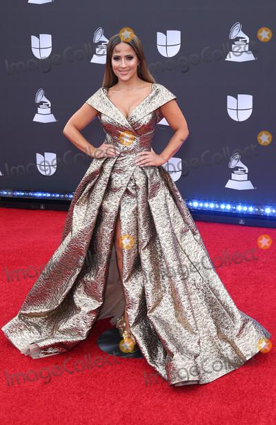 Jacky Guerrido Photo - 14 November 2019 - Las Vegas NV - Jackie Guerrido 2019 Latin Grammy Awards Red Carpet Arrivals at MGM Grand Garden Arena Photo Credit MJTAdMedia