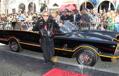 Batmobile Batman Photo - 05 April 2012 - Hollywood California - George Barris Batmobile Batman  Kapow Adam West Honored With Star On The Hollywood Walk Photo Credit Russ ElliotAdMedia