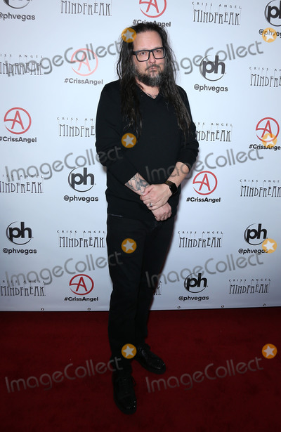 Jonathan Davis Photo - 19 January 2019 - Las Vegas NV -  Jonathan Davis Criss Angel celebrates the official grand opening of MINDFREAK at Planet Hollywood Resort  Casino Photo Credit MJTAdMedia