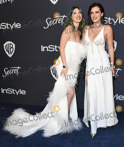 Dani Thorne Photo - 05 January 2020 - Beverly Hills California - Dani Thorne Bella Thorne 21st Annual InStyle and Warner Bros Golden Globes After Party held at Beverly Hilton Hotel Photo Credit Birdie ThompsonAdMedia